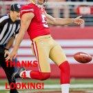 BRADLEY PINION 2015 SAN FRANCISCO 49ERS FOOTBALL CARD