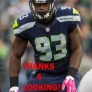 DAVID KING 2015 SEATTLE SEAHAWKS FOOTBALL CARD