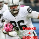 LEE SMITH 2015 OAKLAND RAIDERS FOOTBALL CARD