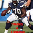 CHRIS HAIRSTON 2015 SAN DIEGO CHARGERS FOOTBALL CARD