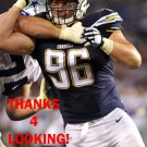 MITCH UNREIN 2015 SAN DIEGO CHARGERS FOOTBALL CARD