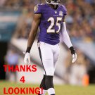 TRAY WALKER 2015 BALTIMORE RAVENS FOOTBALL CARD