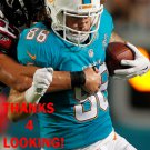 JAKE STONEBURNER 2015 MIAMI DOLPHINS FOOTBALL CARD