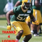 TAVARUS DANTZLER 2015 GREEN BAY PACKERS FOOTBALL CARD