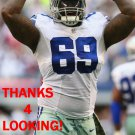 HENRY MELTON 2014 DALLAS COWBOYS FOOTBALL CARD