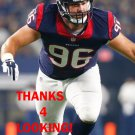 DAN PETTINATO 2015 HOUSTON TEXANS FOOTBALL CARD