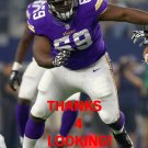 BABATUNDE AIYEGBUSI 2015 MINNESOTA VIKINGS FOOTBALL CARD