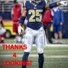 T.J. McDONALD 2015 ST. LOUIS RAMS FOOTBALL CARD