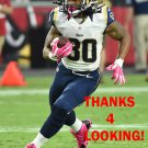 TODD GURLEY 2015 ST. LOUIS RAMS FOOTBALL CARD