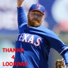 TOMMY HANSON 2014 TEXAS RANGERS BASEBALL CARD