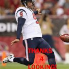 SHANE LECHLER 2015 HOUSTON TEXANS FOOTBALL CARD