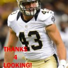 VINNIE SUNSERI 2015 NEW ORLEANS SAINTS FOOTBALL CARD