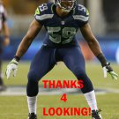 KOREY TOOMER 2012 SEATTLE SEAHAWKS FOOTBALL CARD
