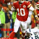 CHASE DANIEL 2015 KANSAS CITY CHIEFS FOOTBALL CARD