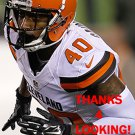 DE'ANTE SAUNDERS 2015 CLEVELAND BROWNS FOOTBALL CARD