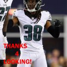 E.J. BIGGERS 2015 PHILADELPHIA EAGLES FOOTBALL CARD