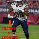 DREAMIUS SMITH 2015 SAN DIEGO CHARGERS FOOTBALL CARD