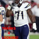 DAMION SQUARE 2015 SAN DIEGO CHARGERS FOOTBALL CARD