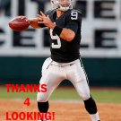 CHRISTIAN PONDER 2015 OAKLAND RAIDERS FOOTBALL CARD