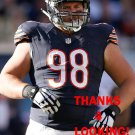 MITCH UNREIN 2015 CHICAGO BEARS FOOTBALL CARD
