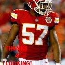 D.J. ALEXANDER 2015 KANSAS CITY CHIEFS FOOTBALL CARD