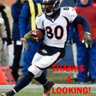 VERNON DAVIS 2015 DENVER BRONCOS FOOTBALL CARD