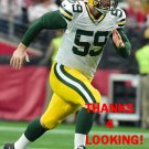 RICK LOVATO 2015 GREEN BAY PACKERS FOOTBALL CARD