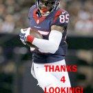 NATE WASHINGTON 2015 HOUSTON TEXANS FOOTBALL CARD