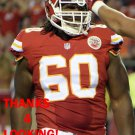 JARROD PUGHSLEY 2015 KANSAS CITY CHIEFS FOOTBALL CARD