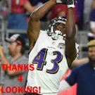 RAHEEM MOSTERT 2015 BALTIMORE RAVENS FOOTBALL CARD