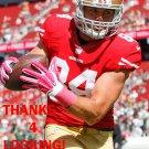 BLAKE BELL 2015 SAN FRANCISCO 49ERS FOOTBALL CARD