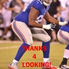 BOBBY HART 2015 NEW YORK GIANTS FOOTBALL CARD