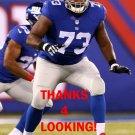 MARSHALL NEWHOUSE 2015 NEW YORK GIANTS FOOTBALL CARD