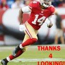 JEROME SIMPSON 2015 SAN FRANCISCO 49ERS FOOTBALL CARD