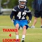 JOHNNY LOWDERMILK 2015 SAN DIEGO CHARGERS FOOTBALL CARD