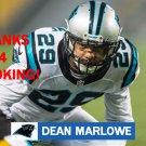 DEAN MARLOWE 2015 CAROLINA PANTHERS FOOTBALL CARD