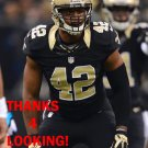 JAMES ANDERSON 2015 NEW ORLEANS SAINTS FOOTBALL CARD