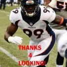 GERALD RIVERS 2015 DENVER BRONCOS FOOTBALL CARD