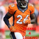 DARIAN STEWART 2015 DENVER BRONCOS FOOTBALL CARD