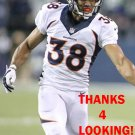 CURTIS MARSH 2015 DENVER BRONCOS FOOTBALL CARD