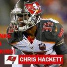 CHRIS HACKETT 2015 TAMPA BAY BUCCANEERS FOOTBALL CARD
