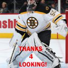 JONAS GUSTAVSSON 2015-16 BOSTON BRUINS HOCKEY CARD