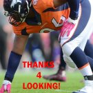 VANCE WALKER 2015 DENVER BRONCOS FOOTBALL CARD