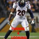 JOSH BUSH 2015 DENVER BRONCOS FOOTBALL CARD
