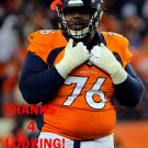 MARVIN AUSTIN 2014 DENVER BRONCOS FOOTBALL CARD