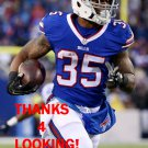 MIKE GILLISLEE 2015 BUFFALO BILLS FOOTBALL CARD