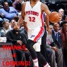 JUSTIN HARPER 2015-16 DETROIT PISTONS BASKETBALL CARD