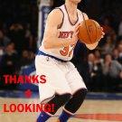JIMMER FREDETTE 2015-16 NEW YORK KNICKS BASKETBALL CARD