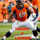 EVAN MATHIS 2015 DENVER BRONCOS FOOTBALL CARD