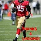 D.J. CAMPBELL 2014 SAN FRANCISCO 49ERS FOOTBALL CARD